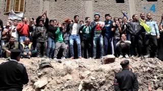 فيديو24: لحظة انتشال تمثال رمسيس الثاني بالقاهرة
