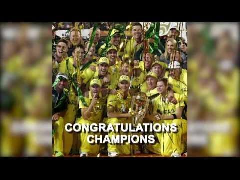 The Furred Umpire waves New Zealand goodbye, congratulates World Cup winners Australia