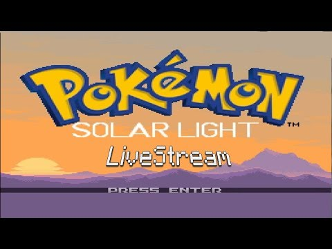 Pokemon Solar Light - Playthrough Stream!
