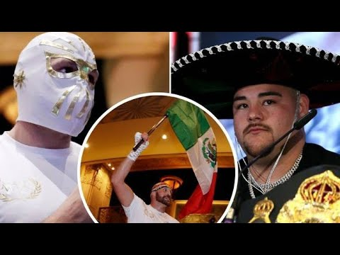 TYSON FURY DISRESPECTED THE MEXICAN PEOPLE SAYS ANDY RUIZ