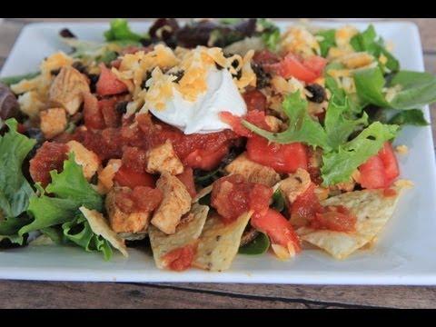 chicken-taco-salad-easy-dinner-idea