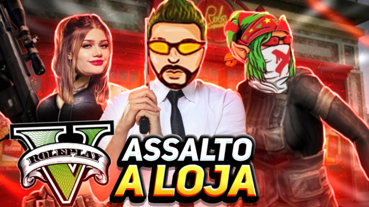 TROPA DO GAGO ASSALTANDO! GTA RP