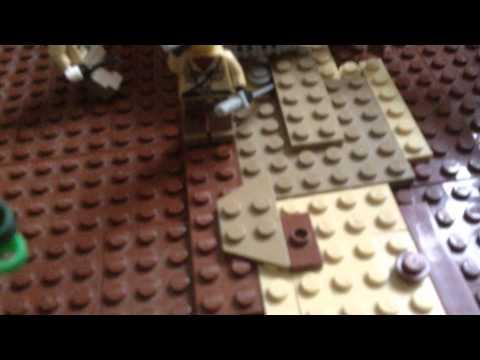 Lego Chindits ambush on the Japanese in Burma