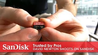 Trusted by Pros | Professional Photographer David Newton Shoots on SanDisk® microSD
