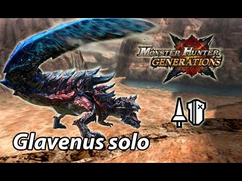 MHGen Highrank Glavenus solo (Adept Lance) - 3'51