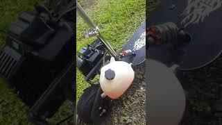 Trottinette thermique 49 cc modèle Zipper Scooter