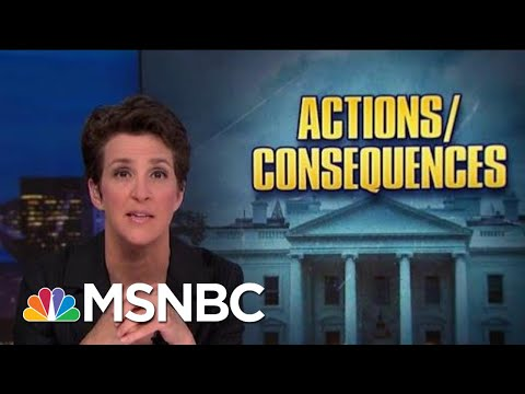 Roiled By Trump Politics, NOAA Seeks Accountability, Atonement | Rachel Maddow | MSNBC