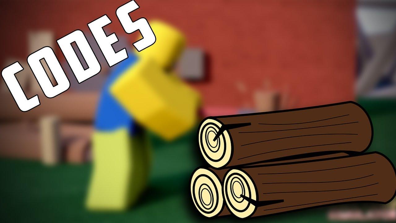 roblox woodcutting simulator codes