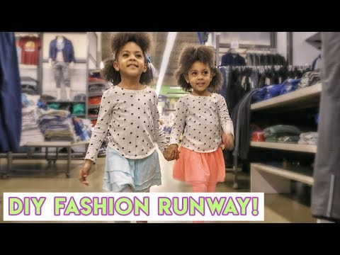 WE TURNED THE MALL INTO A RUNWAY!