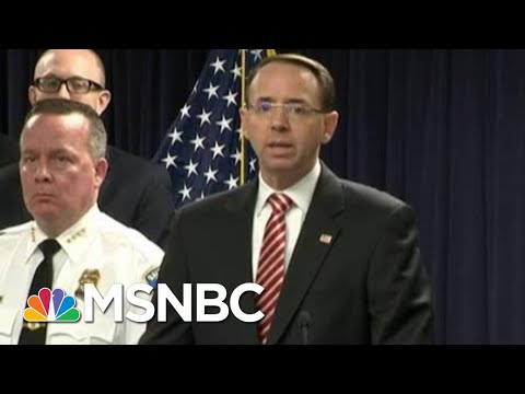 Rod Rosenstein Joked About Secretly Recording President Donald Trump  Hardball  MSNBC