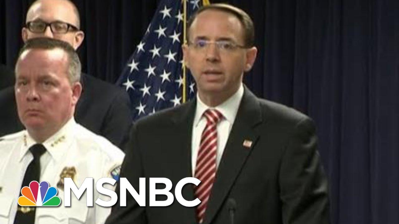 Rod Rosenstein Joked About Secretly Recording President Donald Trump | Hardball | MSNBC