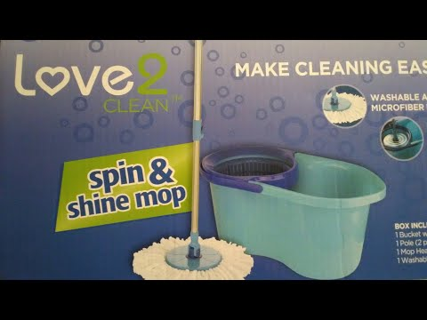 Love 2 Clean Spin & Shine Mop Review!👍