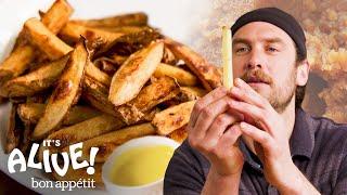 Download lagu Brad Makes Miso Fermented Fries | It's Alive | Bon Appétit