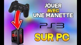 TUTO | JOUER AVEC UNE MANETTE PS3 SUR PC ( Windows 10 )