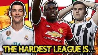 The Hardest League In World Football Is... | #StatWarsTheChampions