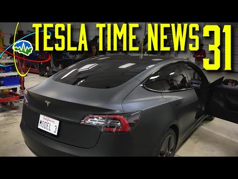 Tesla Time News 31 - Model 3 Leaks!