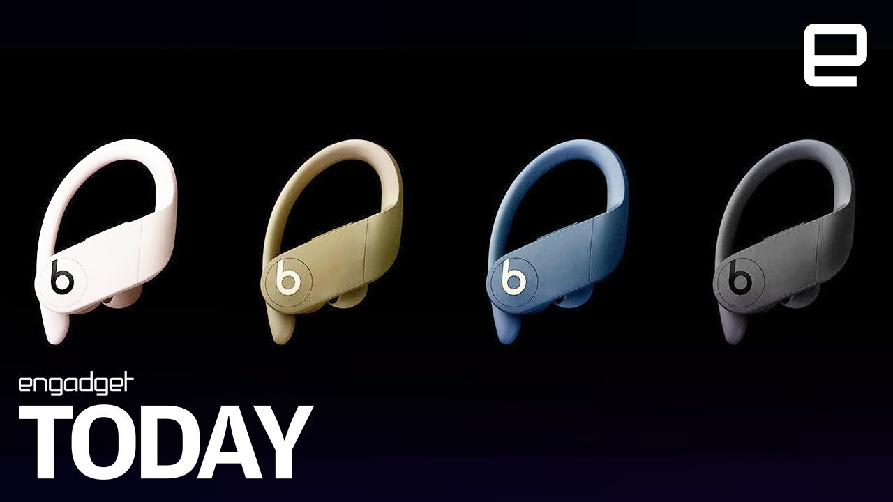 4f43baba286 The Powerbeats Pro are Beats' first true wireless earbuds - YouTube