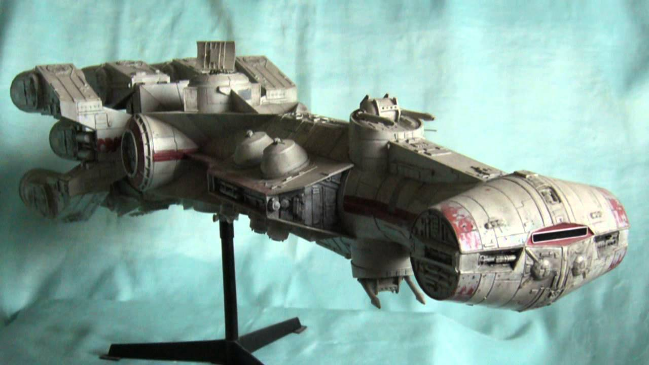 Papercraft Star Wars Tantive 4 - Corellian Corvette paper model