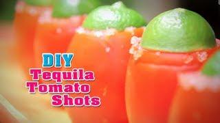 Intro- DIY: Tequila tomato shots! Thumbnail