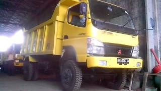 Mitsubishi diesel dump truck 4x4