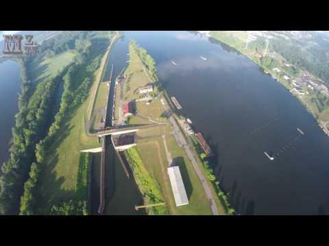 2016-06-19 - Kajakowy I Wioślarski Tor Regatowy W Bydgoszczy Z Drona Race Lane From Drone 4K