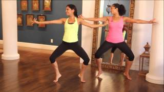 Indian Classical Dance-Inspired Workout