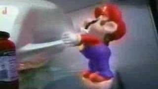 Super Mario Got Milk Commercial