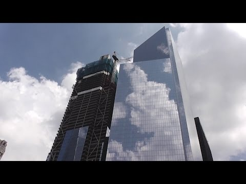 UPDATE! One World Trade Center / Three World Trade Center 8/19/2016 construction progress part 2