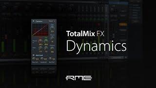 rME Audio TotalMix FX DSP - Dynamics