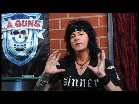 L.A. Guns - Working Together [The Making...