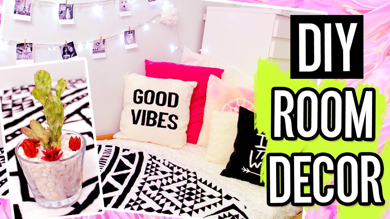 Diy room decor for summer tumblr inspired room for Diy room decor 2016