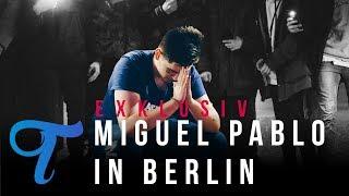 Exklusiv: Miguel Pablo verschenkt seine Sachen in Berlin
