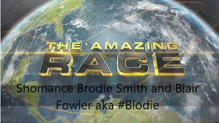 Amazing Race Shomance Brodie Smith and Blair  Fowler aka #Blodie