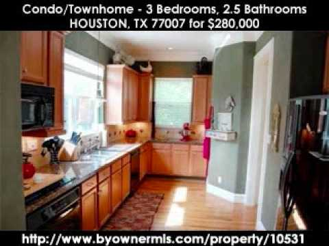 ByOwnerMLS.com - 3 beds/2.5 baths - Houston, TX 77007 - $280,000