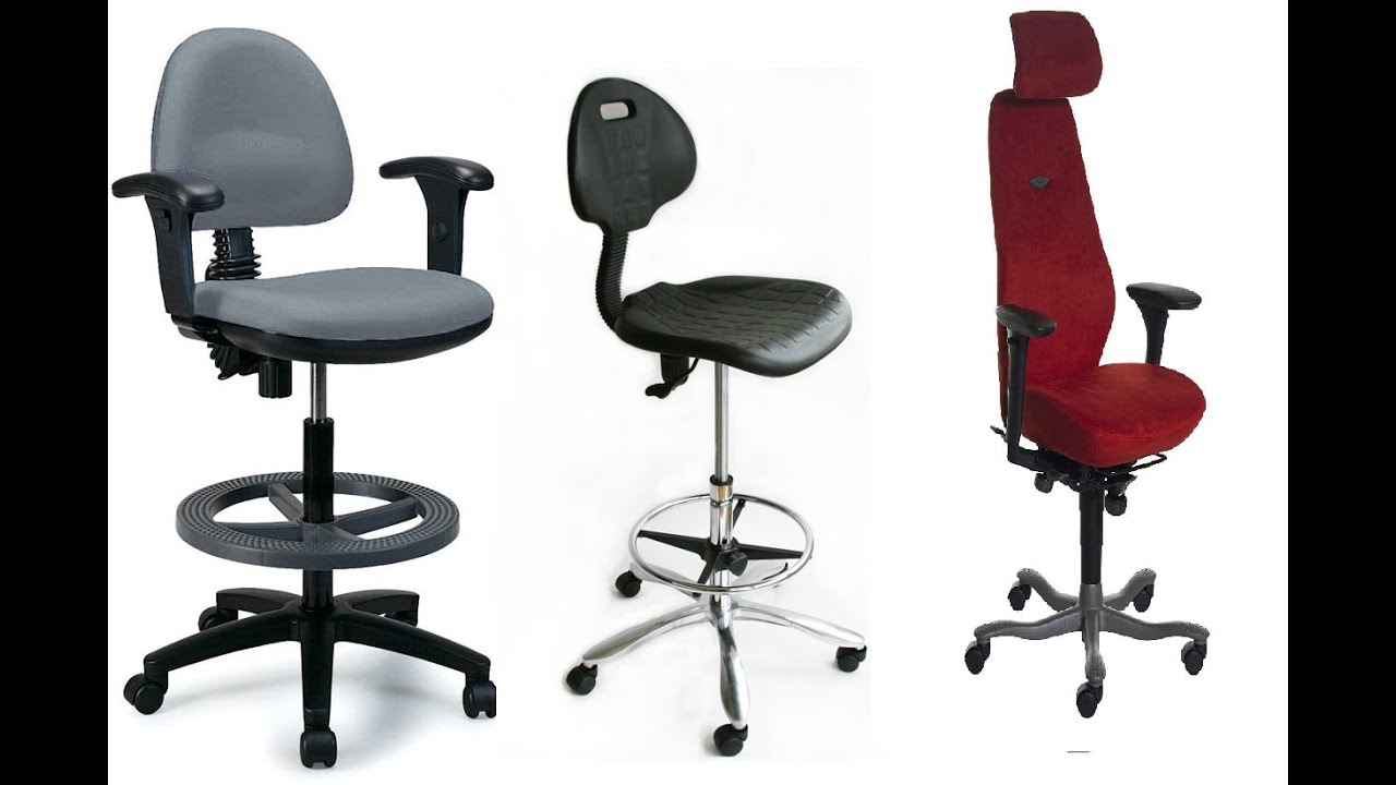 Ideas For Tall Office Chair  YouTube