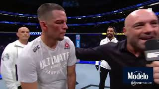 Who Do You Train With? Nate Diaz   Funny Moments
