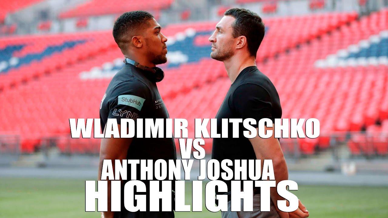 Klitschko Joshua Highlights