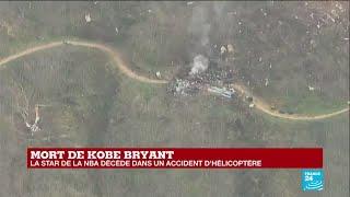 La légende de la NBA Kobe Bryant est décédé dans un accident d'hélicoptère