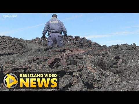 Hawaii Cracks Down On Lava Rock Removal (May 15, 2018)