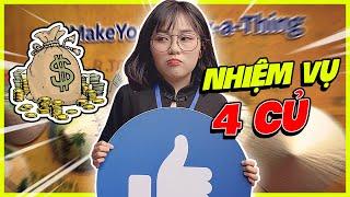 Misthy làm nhiệm vụ Facebook được tai phone 4 triệu || THY ƠI MÀY ĐI ĐÂU ĐẤY ???