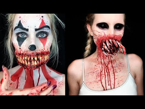 Perfect ✦Scary Special Effects Makeup 2018 | Halloween SFX Makeup ...
