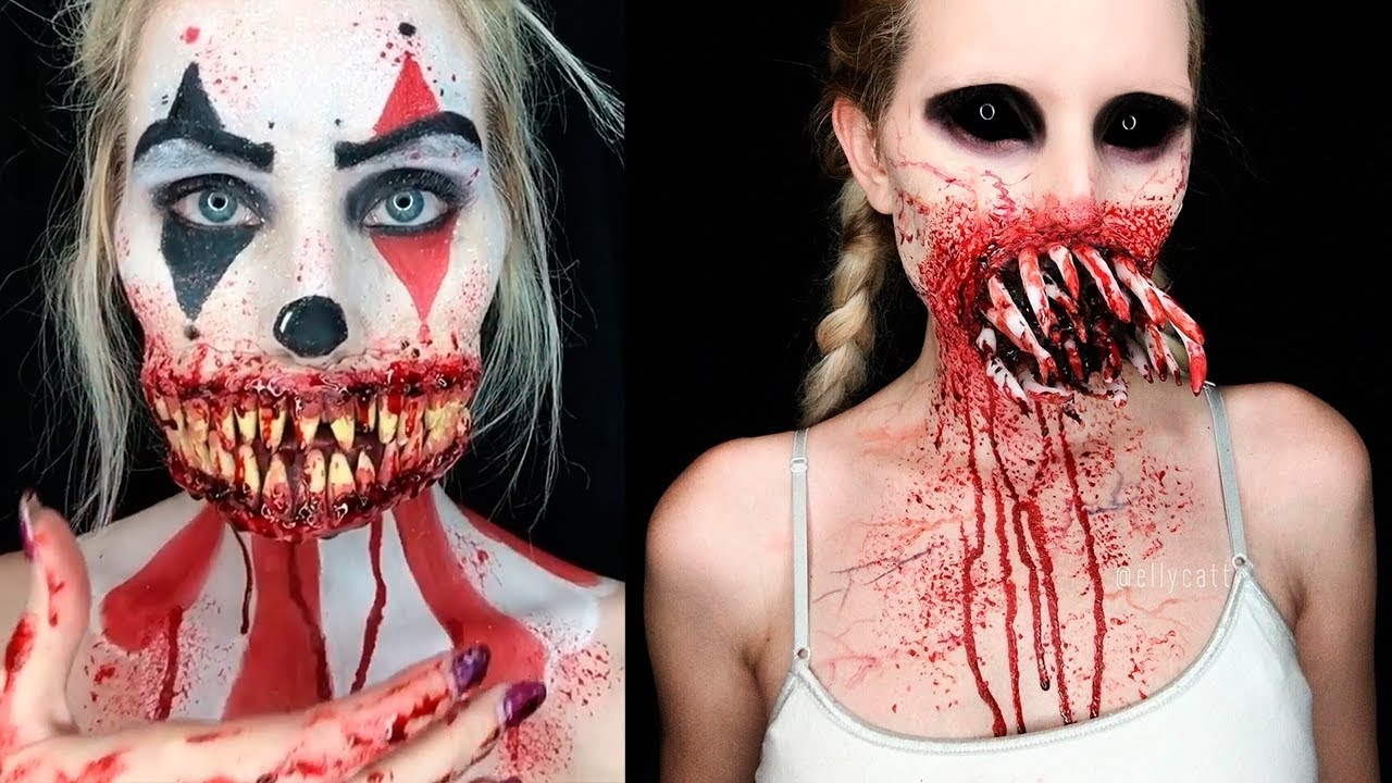 High Quality ✦Scary Special Effects Makeup 2018 | Halloween SFX Makeup Tutorials