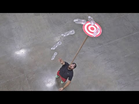 Thumbnail: Water Bottle Flip 2 | Dude Perfect