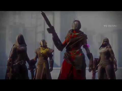 Destiny 2 Beta! Warlock Countdown Gameplay