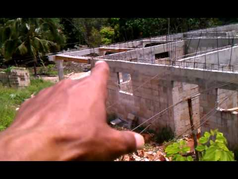 House building in jamaica part 25 youtube for Building a house in jamaica