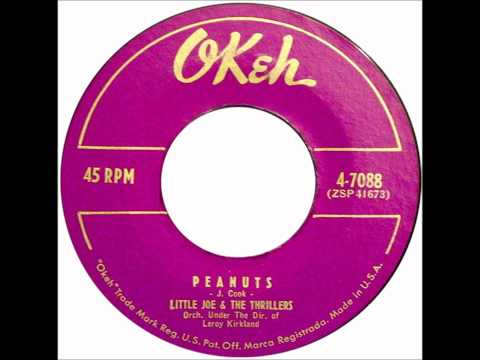 Little Joe & The Thrillers - This I Know - OKEH 4-7075 - 1956