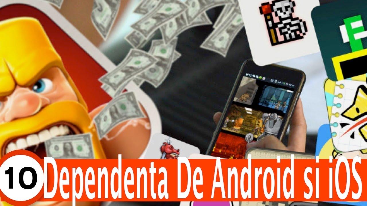 Top 10 Cele Mai Adictive Jocuri iOS si Android