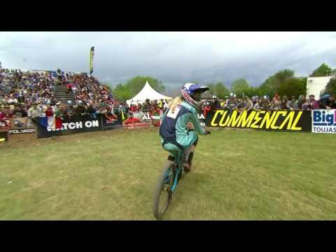 2017 UCI Downhill Mountain Bike World Cup Lourdes - Highlights
