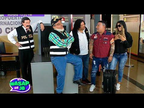 El Tío Lisuratás se encontrará con Paolo Guerrero y Atolondra en el aeropuerto   El Wasap de JB