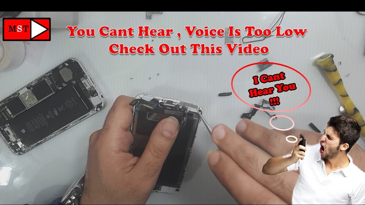 IPhone 10S Ear-Speaker Is Too Low Fixed!